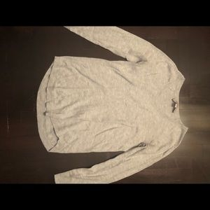 LOFT new light grey sweater size XXSP